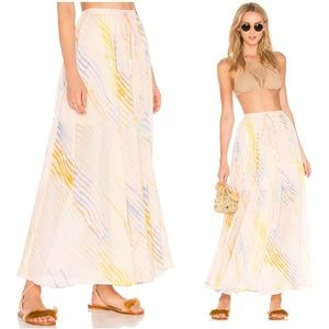 $128 NWT Free People True To You Maxi Skirt
